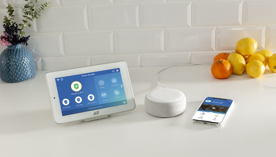 Mobile home automation alexa & google home