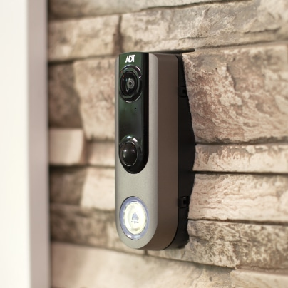 Mobile doorbell security camera