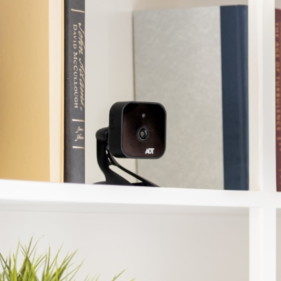 Mobile indoor security camera